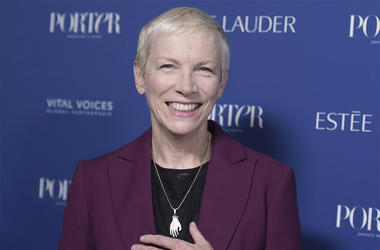 In this Oct. 9, 2018, file photo, Annie Lennox attends Porter's 3rd Annual Incredible Women Gala at the Wilshire Ebell Theatre in Los Angeles. (Photo credit: Richard Shotwell/Invision/AP, File)