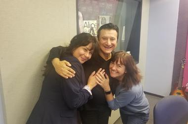 Steve Perry On Alice @ 97.3