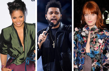Outside Lands Headliners: Janet Jackson, The Weeknd and Florence Welch (Photo credit: Mark Chilton/Richfoto/PA Images/Christopher Smith/AdMedia/Sipa USA)