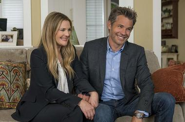 Drew Barrymore and Timothy Olyphant in 'The Santa Clarita Diet' (Photo credit: Saeed Adyani/Netflix)