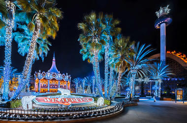 Winterfest at California's Great America