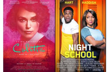 Colette and Night School movie review