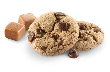 Caramel Chocolate Chip Girl Scouts Cookie