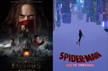 Mortal Englines and Spiderman - Into the Spiderverse