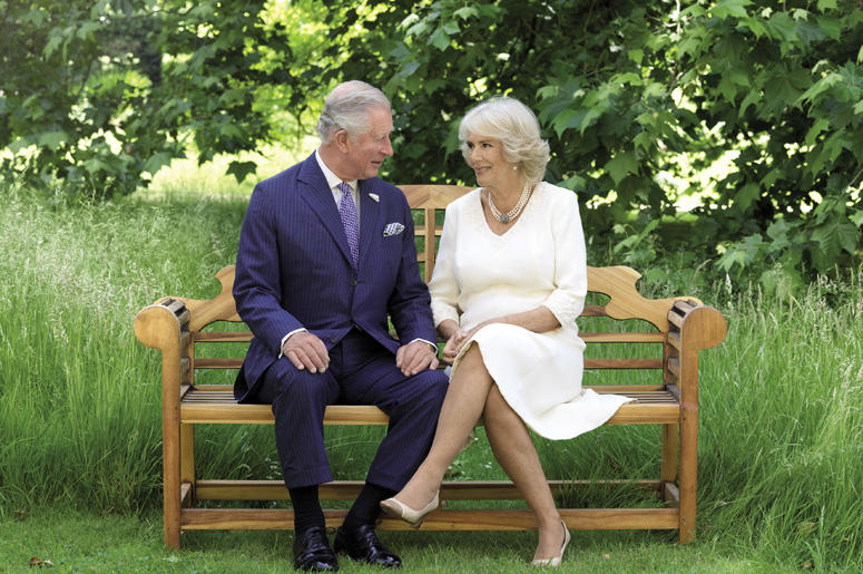 Britain's Prince Charles and Camilla, Duchess of Cornwall