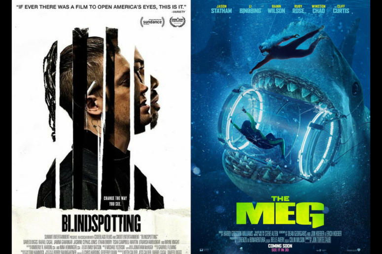 The Meg and Blindspotting Movie Review