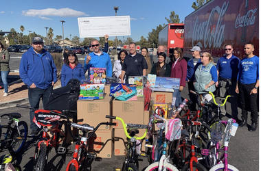 Allstate Donates $35,000 to KLUC Toy Drive
