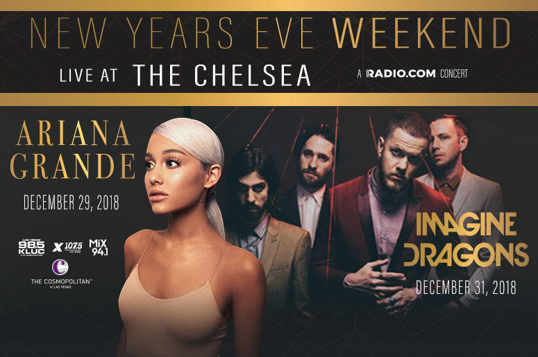 New Years Weekend with Ariana Grande, Imagine Dragons