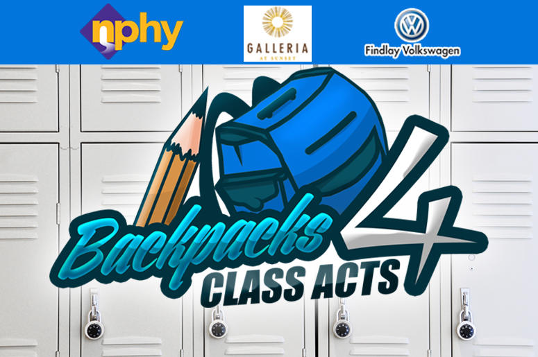 Backpacks 4 Class Act 2018