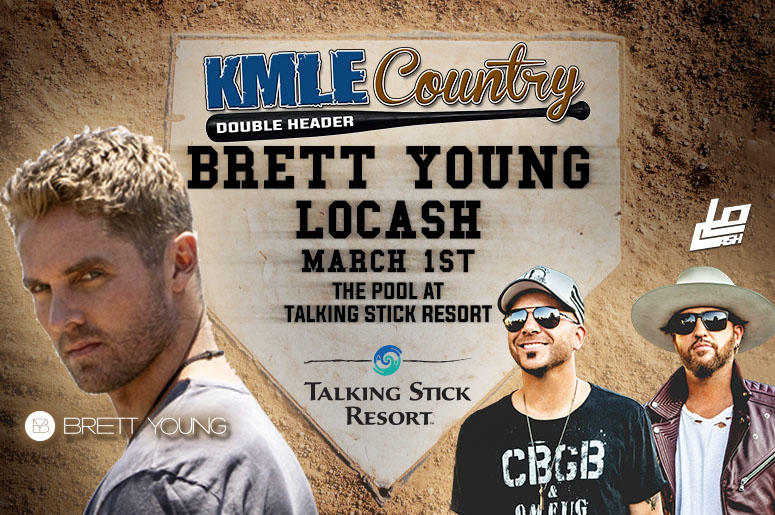 KMLE Country Double Header with Brett Young and LOCASH