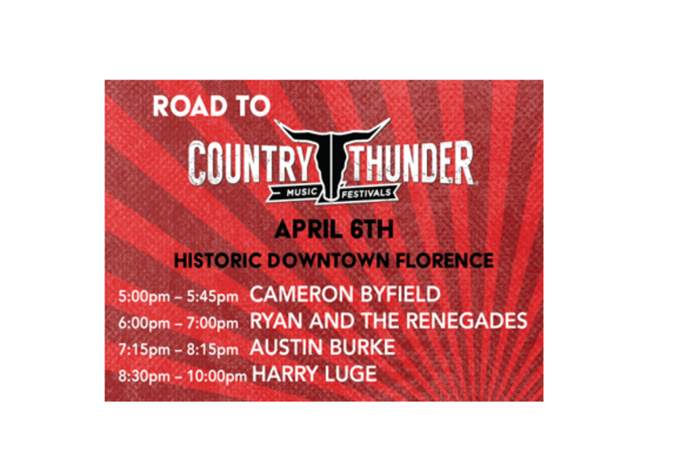 Road to Country Thunder 2019