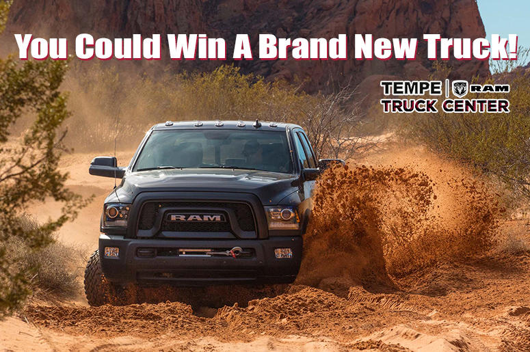 You could win a brand new truck!
