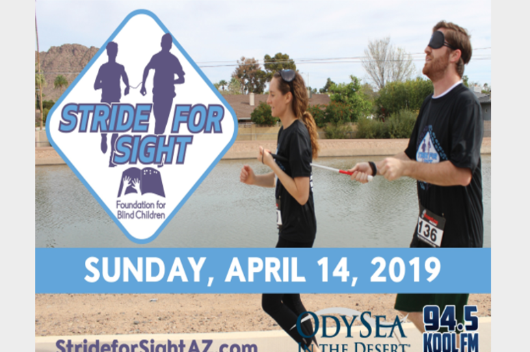Stride For Sight April 14th, 2019