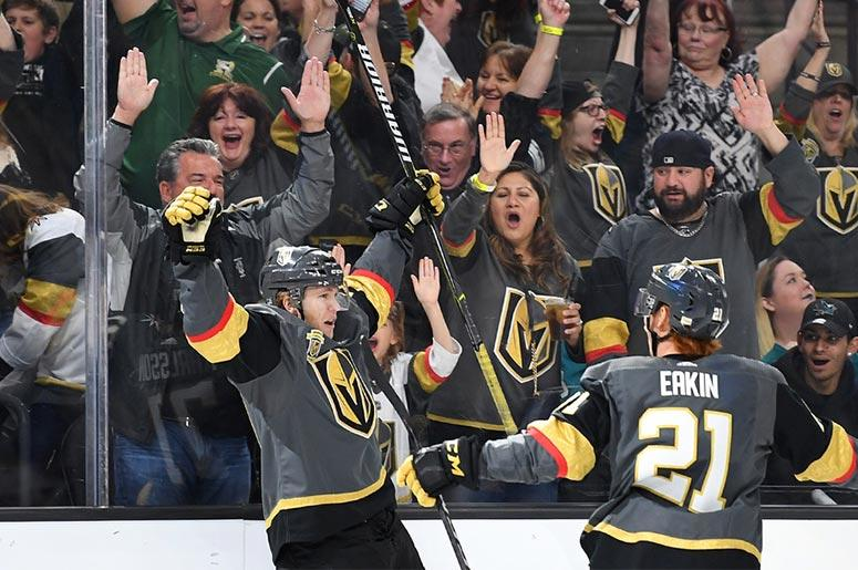 Golden Knights Celebrate