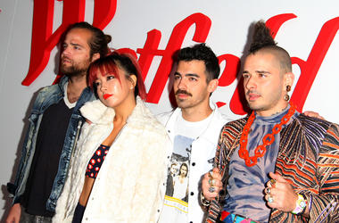 DNCE Westfield Century City Reopening Celebration