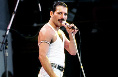 Freddie Mercury of Queen