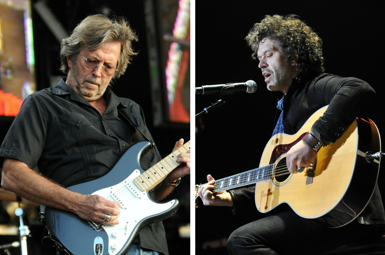 Eric Clapton and Doyle Bramhall