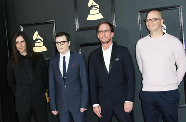 Weezer at the 59th Annual Grammy Awards held at Staples Center in Los Angeles on Sunday February 12, 2017