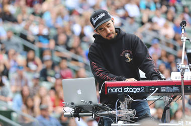 Mike Shinoda at KROQ Weenie Roast 2018