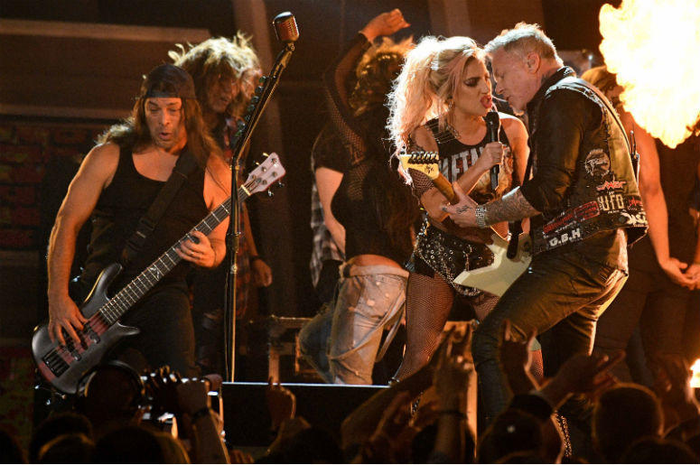 Lady Gaga and Metallica
