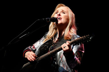 Melissa Etheridge performs at the 2018 National Geographic Awards