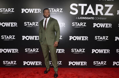 "Curtis ""50 Cent"" Jackson attends the Season 5 World Premiere of ""Power"" at Radio City Music Hall in New York, NY, on June 28,2018."