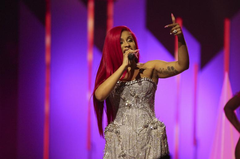 Cardi B performs at the Jingle Ball North in Toronto, Ontario on December 9, 2017