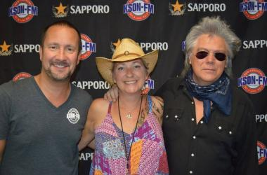 John and Tammy with Marty Stuart