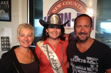 Miss Rodeo California with John and Tammy