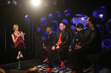 Deborah Howell Interviews All-4-OneAt The SoCal Honda Sound Stage