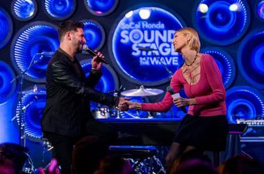 Deborah Howell Interviews Jon B at the SoCal Honda Sound Stage