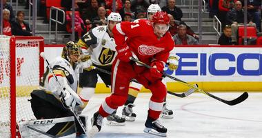 Golden Knights vs. Red Wings