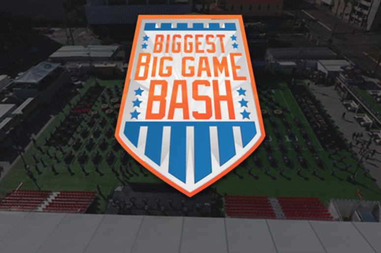 The Biggest Big Game Bash