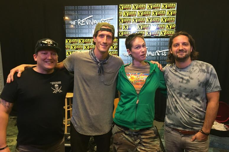 The Revivalists in Studio X; Aug. 8, 2018