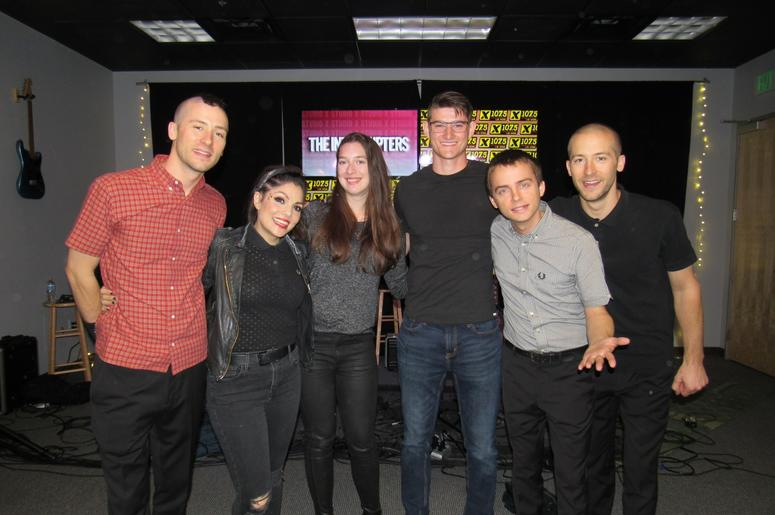 The Interrupters Studio X 9