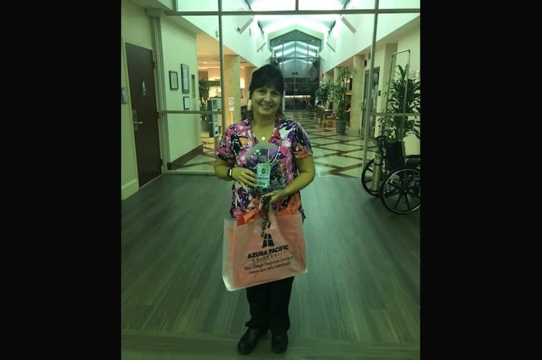 Our November CARE Award Winner is Melanie Zastoupil from Sharp Grossmont Hospital.jpg.jpg