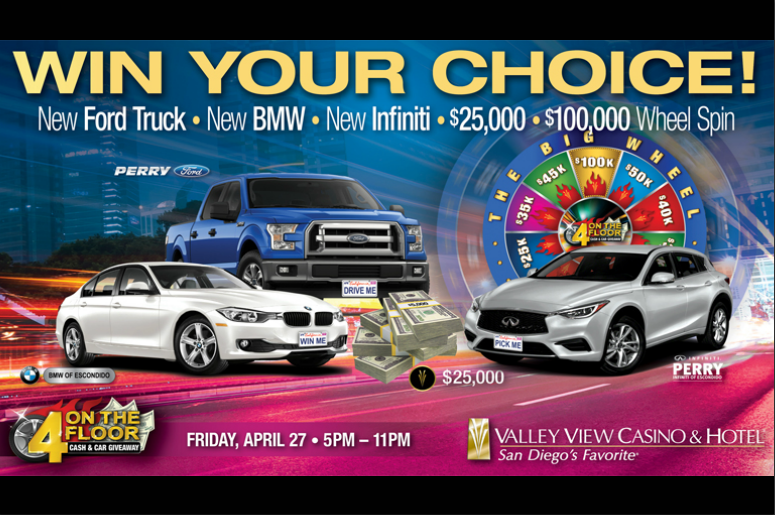 How To Win A Car >> Win Your Choice A New Truck 2 New Cars 25 000 Or Spin The