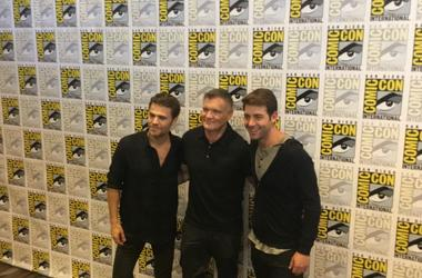 Comic Con Red Carpet Cast of Tell Me a Story