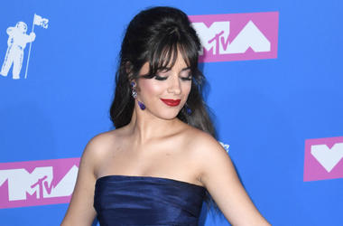 Camila Cabello arriving at the MTV Video Music Awards 2018, Radio City, New York.