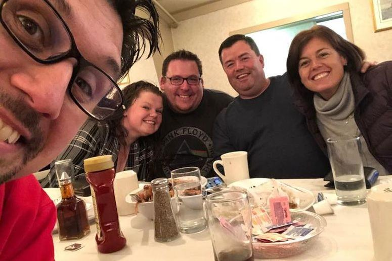 Had lunch with some more close friends - Brandy, Kaiser, Donnie and Deanne