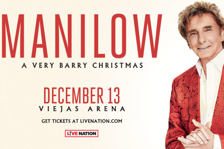 listen to win barry manilow a very barry christmas tickets