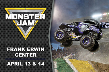 Monster Jam Frank Erwin Center