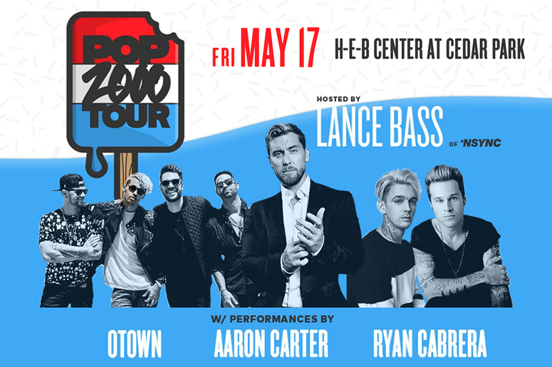 The POP 2000 Tour Hosted by Lance Bass of *NSYNC