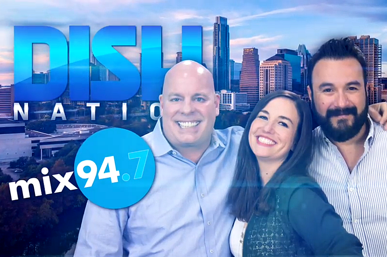 Dish Nation on Mix 94.7 with Booker, Alex & Sara