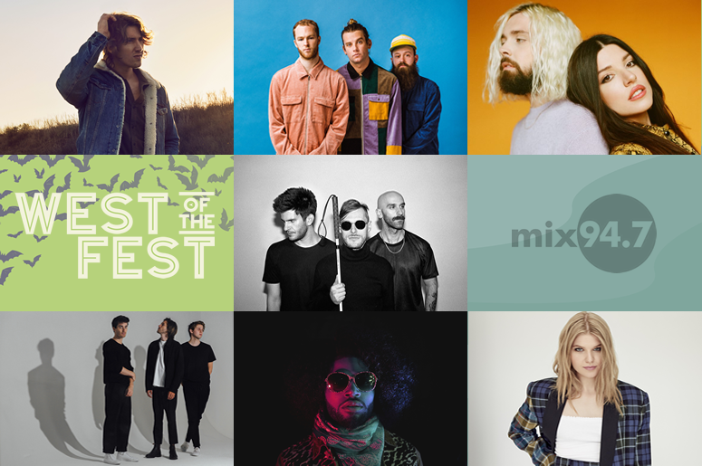 West of the Fest 2019 Artist Lineup
