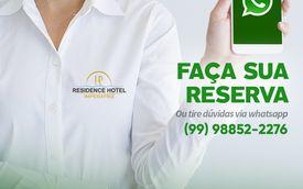 Residence Hotel Imperatriz disponibiliza Whatsapp para reserva