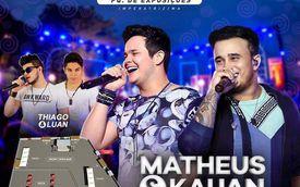 Dia 14 de Novembro acontecerá em Imperatriz o show da dupla Matheus e Kauan, com Open Bar das 22h à 02h! Confira os pontos de vendas e garanta o seu ingresso! http://ow.ly/KfHx30gvJls