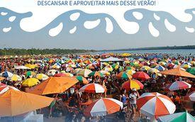 Abertura oficial da Praia do Cacau