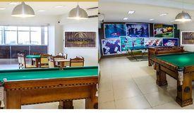 MODERNO SALÃO DE JOGOS DO RESIDENCE HOTEL IMPERATRIZ