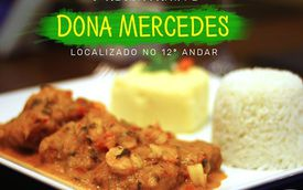 A gastronomia do restaurante Dona Mercedes